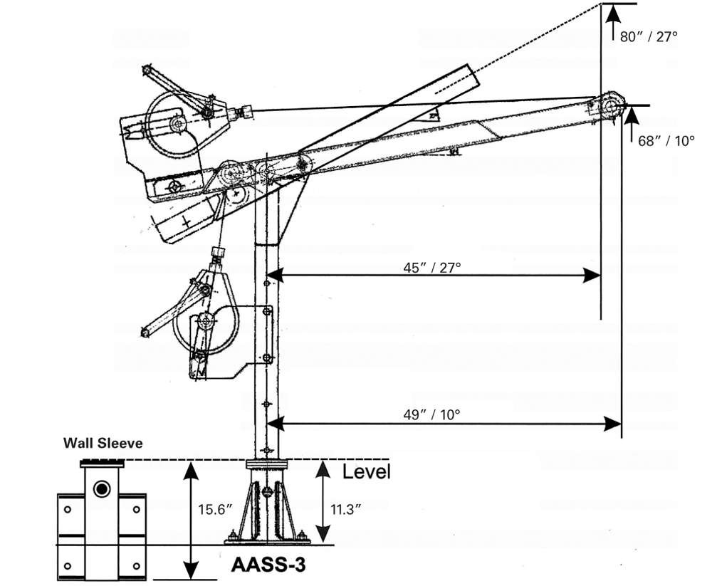 cantilever arm safety device