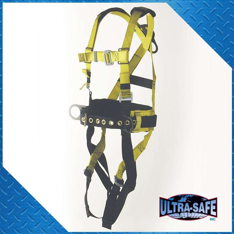 Iron Worker's Type, D-Ring Center Back, Back Pad and Tool Belt ...