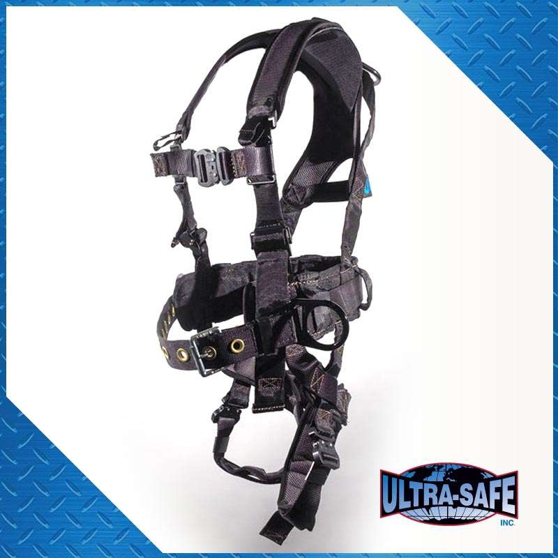 Ultra Pillow-Flex Harness, Iron Workers Type, Back Pad, Tool